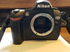 Nikon D70 6.1MP Digital SLR Camera - Black (Body Only)& User Guide