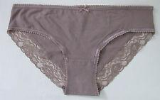 Ladies/Girls Size 14 Debenhams Knickers Panties Briefs Stretchy Cotton Mink