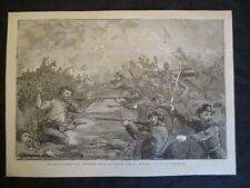 1898 Frank Beard Civil War Print - Battle of Fort Sanders, Knoxville, Tennessee