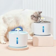 New listing Cat Water Fountain Dog Drinking Bowl Pet Usb Automatic Water Dispenser Feeder