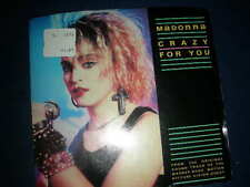 Madonna - Crazy For You /Berlin No More Words  45 w/ Picture Sleeve Geffen VG+