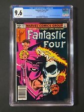 Fantastic Four #257 CGC 9.6 (1983) - RARE Newsstand - Scarlet Witch & Galactus