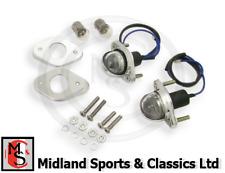 BEK116 - MGB,  MGC & GT - REAR NUMBER PLATE LAMPS,  PLINTHS & FITTINGS - BHA4283
