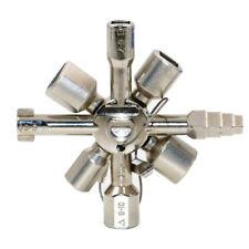 Multifunktions Kreuzschlüssel Dreieck Vierkantschlüssel für Schaltschrank Ventil