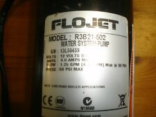 Flojet Triplex Compact 12V Diaphragm Pump Bypass Fluid Viton 30 PSI 4.7 LPM