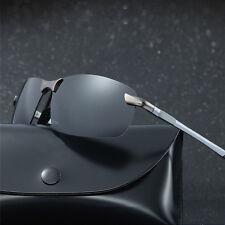 Men's Polarized Aviator Sunglasses Outdoor Driving Fishing Sport Eyewear Fashion