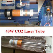 40W Laser Tube For CO2 USB Laser Engraving Cutting Machine Water Cooling Top