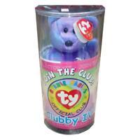 Clubby IV Bear Sealed Unopened Case BBOC Kit Ty Beanie Baby MWMT Retired