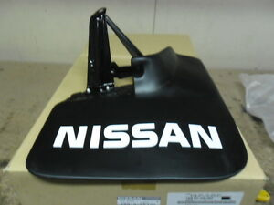New Genuine Nissan Patrol Y60 GQ Patrol Rear Mudflap Mudguard RHS w Flares