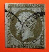 Marcophilie:EMPIRE NON DENTELE N° 11 (TB - 1247-3) OBLITER. Cad Rare Cote +200€