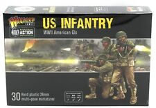 Bolt Action 402013012 US Infantry (WWII American GIs) Platoon Plastic Miniatures