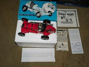 Nylint THIMBLE DROME Champion #33 red replica Tether Car 1998