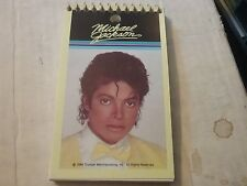 MICHEAL JACKSON       SMALL NOTE PAD     1984 TRIUMPH   MERCHANDISING