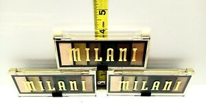 3 MILANI MOST WANTED #120 OUTLAW OLIVE - EYESHADOW PALETTE NEW