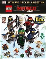The LEGO® NINJAGO® Movie™ Ultimate Sticker Collection by DK, NEW Book, FREE & Fa