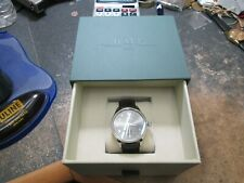 MENS BALL oversize Stainless Running Watch in original box BAND AND BUCKLE