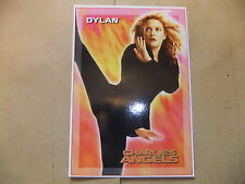 CHARLIE'S ANGELS DVD POSTCARD TRADING CARD DREW BARRYMORE MOVIE UK EXCLUSIVE