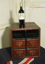 Oak Rustic Edwardian Cabinets (1901-1910)