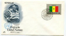 United Nations #412 Flag Series 1983, Senegal, ArtCraft, Fdc