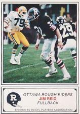 1982 JOGO CFL Canadian Football Ottawa Rough Riders Set