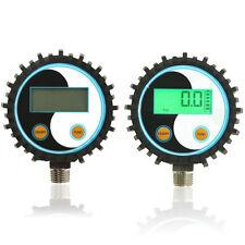 G1/4 NPT1/8 Battery Gas Power Digital Pressure Gauge Tester Detector 0~200psi US