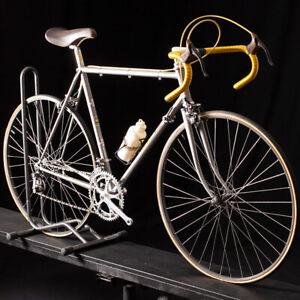 Vintage Masi Gran Criterium Road Bike 70's, original Super Record Size 55cm