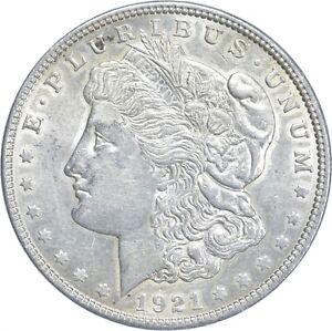 Early - 1921 Morgan Silver Dollar - 90% US Coin *307