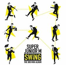 K-POP SUPER JUNIOR M 3rd Mini Album [SWING] CD Sealed Music CD