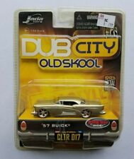 JADA Dub City Oldskool 1957 Buick diecast 1:64 scale Wave 2 Silver collectible