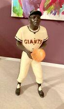 Vintage Willie Mays SF Giants Original 50s-60s Hartland Plastic Baseball Statue