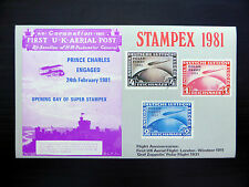 Gb 1981 graf zeppelin stampex m/feuille neuf prix FP7145
