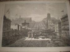 A Street in San Francisco by E Hildebrandt 1866 print ref C