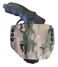 Holster Kydex Wrap Camo pour HDR 50 Umarex Système MOLLE et fixation ceinture.