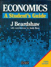 Economics: A Student's Guide, Beardshaw, John, Very Good Book