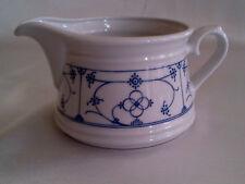 Milchkaennchen Indisch blau Strohblume Porzellan Form Marienbad Qualität