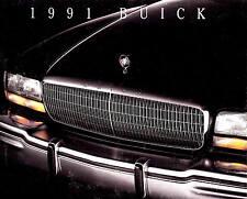 1991 BUICK BROCHURE -REATTA-RIVIERA-REGAL-CENTURY-ROADMASTER-LESABRE-SKYLARK