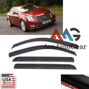 For 2008 2009 2010 2011 2012 2013 Cadillac CTS 4 Door Sedan Window Visor Guard