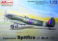"AZ Model 1/72 Supermarine Spitfire LF Mk.IX ""Bubble Canopy"" # 7633"