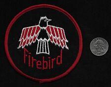 "Vintage 60s-70s FIREBIRD 4"" Gearhead Hot Rod Rockabilly Collectors Patch"