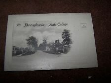 Vintage  Pa  Pennslyvania  Penn   State College The Gate  #2   Postcard  Folder