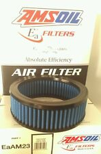 Amsoil Air Filter Part# EaAM 23 EAAM23  general application S&S teardrop housing