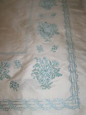 VINTAGE 1960's SCALAMANDRE FABRIC DRAPERY PANEL(LEFT)-100%SILK BROCADE-HANDWOVEN