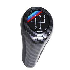 Carbon Fiber 5 Speed Gear Shift Knob for BMW 1 3 5 6 Series X1 X3 X5 E36 E46