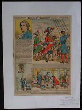 """Ancienne image d'Epinal """" DUGUAY-TROUIN """" PELLERIN et Cie Imp.édit. La Marine"""