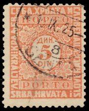 "YUGOSLAVIA J17 (Mi P58C) - Numeral of Value ""Postage Due"" (pf79409)"