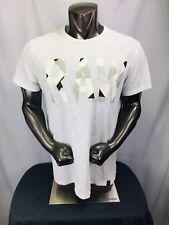 G-STAR RAW Moiric Spell Out Camo T-Shirt CHARCOAL XXL