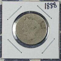 1888 LIBERTY V NICKEL COLLECTOR COIN FREE SHIPPING