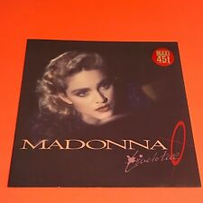 MADONNA LIVE TO TELL GERMANY 12  RARE 1986