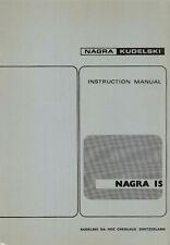 1 x NAGRA IS ! INSTRUCTION MANUAL ! ON ONE CD ! TOP ! RAR ! ENG !
