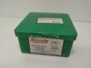 """Grizzly C2129 Shaper Cutter - Stair Tread Nose 3/4"""" Bore 13,000rpm"""
